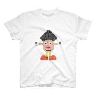 キノコポテトヘッドTシャツ T-shirts