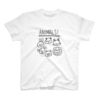 ANIMALS! T-shirts