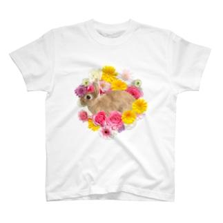 うさぎのピン子 T-shirts