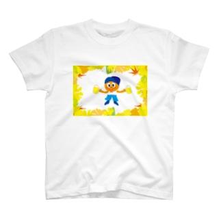 クレコちゃんの秋の祭り T-shirts