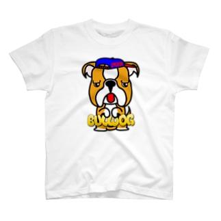 ちんちんブルドッグ T-shirts