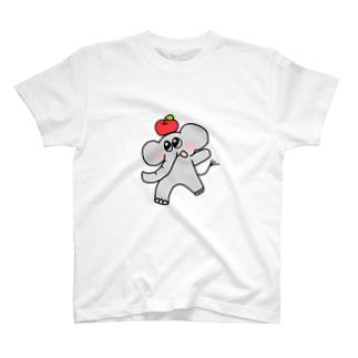 りんご好きぞうさん T-Shirt