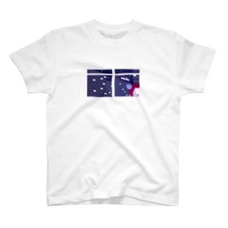 赤こあらのまろかちゃん(強制定時帰社キャンペーン中) T-shirts