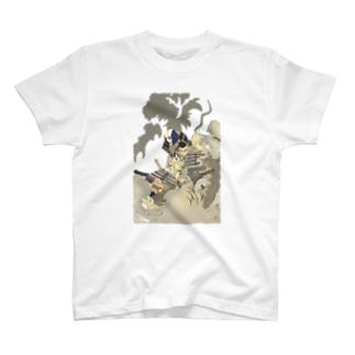 月岡芳年 鵺退治<浮世絵> T-Shirt
