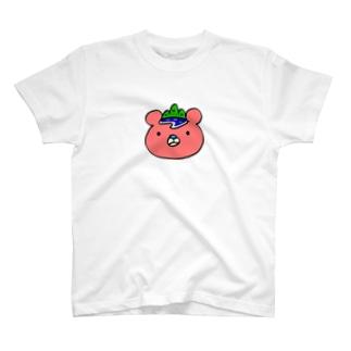 いまじゅくま(顔・ロゴなし) T-shirts