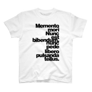 Memento mori T-shirts