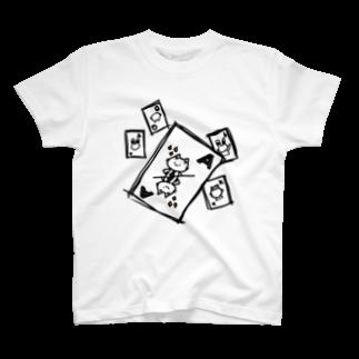 にゃんひー屋のトランプにゃんひー T-shirts