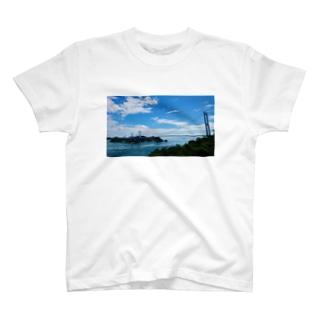 しまなみ海道  来島海峡大橋 T-shirts