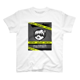 きーぷあうと T-shirts
