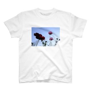 明日の空 T-shirts
