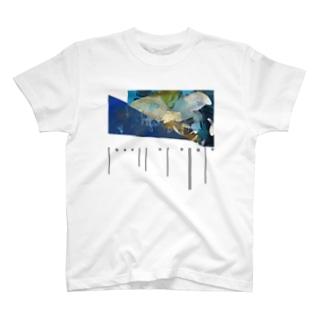 【コラボ】fossil of angle(typography) T-shirts