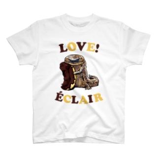 オオサンショウウオとエクレア T-Shirt
