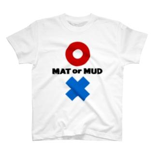 MATorMUD(淡色) T-shirts