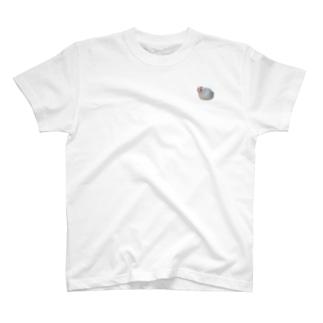 白文鳥にかくん T-Shirt