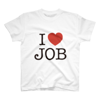 SQUID_INKのI LOVE JOB T-shirts