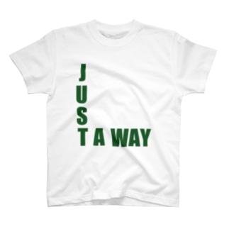 ゆたぽんのJUST A WAY T-shirts