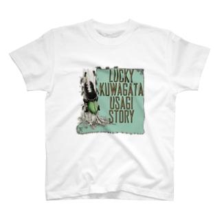 クワガタウサギTOP T-shirts