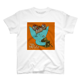 FINCH LIQUEUR RECORDSのピンホール T-shirts