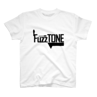 FuzzTONE -black- T-shirts