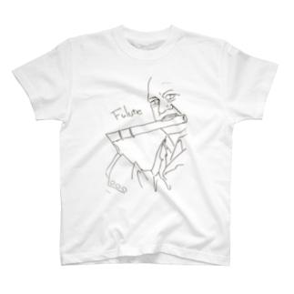 フルート1 T-shirts