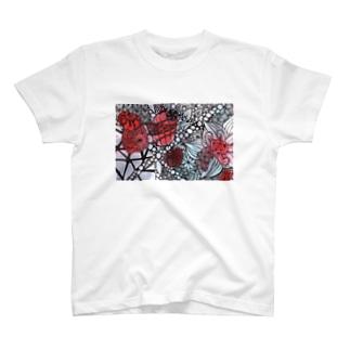 鉱山 the mine T-shirts