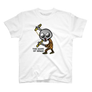 宇宙遊戯2 ヌンチャクバージョン  T-shirts