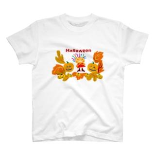 ハロウィーンのクレコちゃん T-shirts
