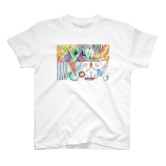 機械仕掛けの世界 T-Shirt