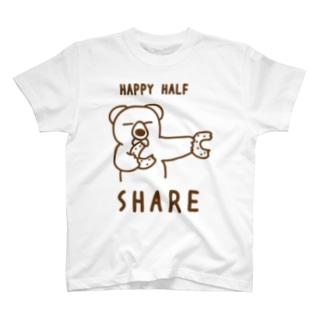 ハーフバースデー祝いリンクシャツ(祝う側用)3 T-shirts