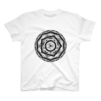 魔方陣Tシャツ TYPE2 T-shirts