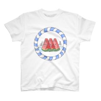 すいか三兄弟 T-shirts
