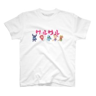 ワルワル団 T-shirts