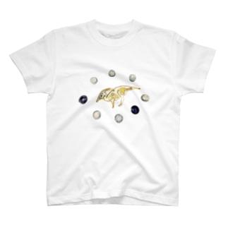 DINO2AVESのパラサウロロフス T-shirts