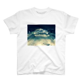 ナイトフォト(海ほたる) T-shirts