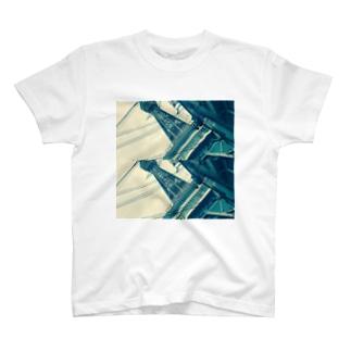 フォトTシャツ(通天閣) T-shirts