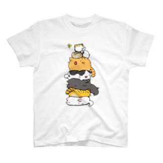ねこたわー T-shirts