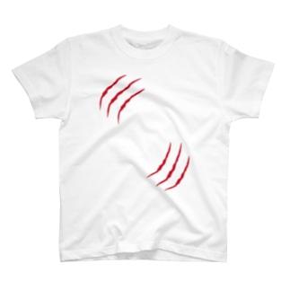 引っ掻き傷 T-shirts