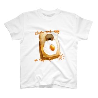 sloth breakfast T-shirts