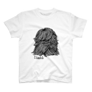 もじゃもじゃ君 T-shirts
