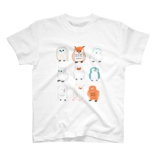 ふくろうさん T-shirts