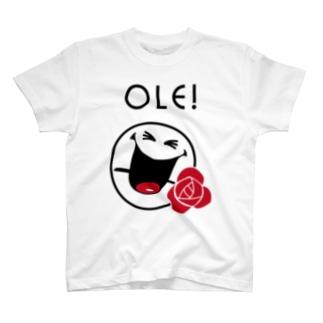 Ole SMILEY [俺、スマイリー] T-shirts