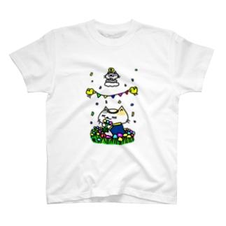 聖なる乙女!猫乙女! T-shirts