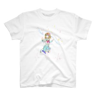 垣間見えた T-shirts