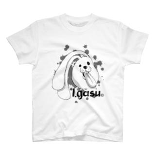 I.gasu 【アイガス】 T-shirts