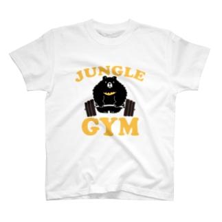 ジャングルジム(ツキノワグマ) T-shirts