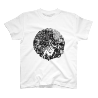 ○黒 T-shirts