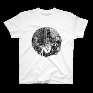 ai7nの○黒 T-shirts