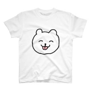 くまちゃん(顔面) T-shirts