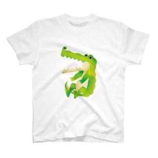 歯のないワニ T-shirts