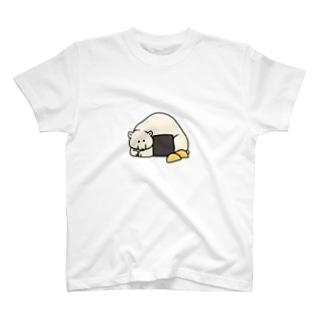 おにぎりしろくま T-shirts